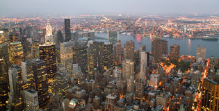 USA, New York from Empire State Building Stock Photo