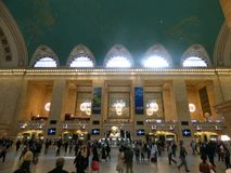 USA. New-York. Grand Central Station royalty free stock photography