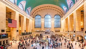 USA. New York Grand Central Station. stock video footage
