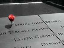 USA. New-York. Ground Zero. The memorial opened on September 11, 2011, 10 years to the day after the attacks. The basins were built on the exact places where stock images