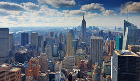 15 03 2011 USA, New York:: Sikten från observaten Royaltyfri Foto