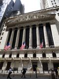 USA. New-York. Stock Exchange. Wall Street royalty free stock images