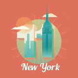 USA New York twin towers, world trade center Royalty Free Stock Image