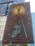 USA. New-York. Union Square. Artwall royalty free stock photos