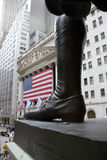 USA, New York, Wallstreet, Stock Exchange Stock Photography