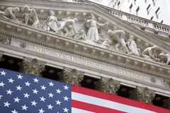 USA, New York, Wallstreet, Stock Exchange. Stock Exchange in New YOrk, Wallstreet, USA Royalty Free Stock Photography