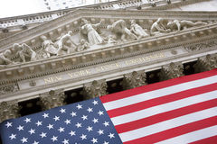 USA, New York, Wallstreet, Stock Exchange. Stock Exchange in New YOrk, Wallstreet, USA Royalty Free Stock Images
