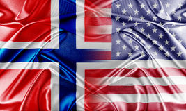 USA and Norway Stock Photo