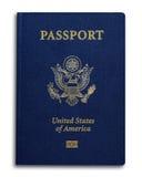 USA nowy Paszport Zdjęcia Stock