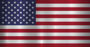 USA Official Flag Stock Image
