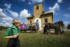 USA - Ohio - Amische Lizenzfreies Stockbild