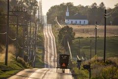USA - Ohio - Amische Lizenzfreie Stockfotografie