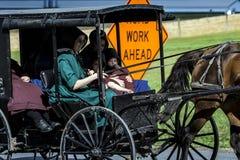 USA - Ohio - Amish. USA - Ohio -  the Amish land of Holmes County Royalty Free Stock Photos