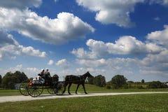 USA - Ohio - Amish. USA - Ohio -  the Amish land of Holmes County Stock Photo