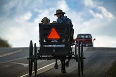 USA - Ohio - Amish Royalty Free Stock Photography
