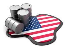 Usa oil Royalty Free Stock Photo