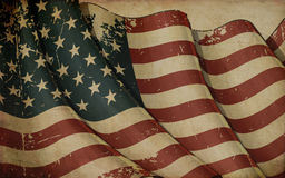 USA Old Paper Background Royalty Free Stock Images
