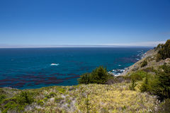 USA - Pacific Coast Highway one Royalty Free Stock Photos