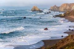 USA Pacific coast landscape, California. USA stock image