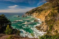 USA Pacific coast landscape, California Royalty Free Stock Photo