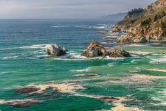USA Pacific coast landscape, California Stock Photography