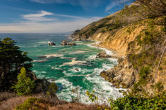 USA Pacific coast landscape, California Royalty Free Stock Image