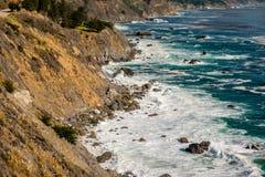 USA Pacific coast landscape, California Royalty Free Stock Image