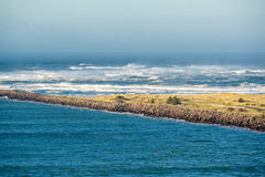 USA Pacific coast landscape, Cape Disappointment. Washington State Stock Images
