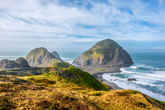 USA Pacific coast landscape, Oregon. State royalty free stock photo
