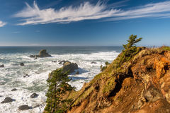 USA Pacific coast landscape, Oregon. State royalty free stock photo
