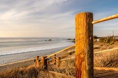 USA Pacific coast, Leo Carrillo State Beach, California. Royalty Free Stock Photos