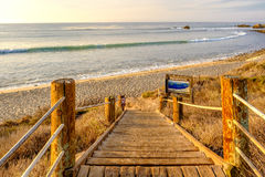 USA Pacific coast, Leo Carrillo State Beach, California. Stock Image