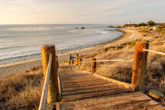 USA Pacific coast, Leo Carrillo State Beach, California. Stock Images