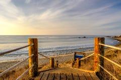 USA Pacific coast, Leo Carrillo State Beach, California. Stock Photography