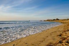 USA Pacific coast, Leo Carrillo State Beach, California. USA Pacific coast landscape, Leo Carrillo State Beach, Malibu, California Royalty Free Stock Photos