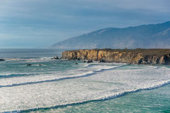 USA Pacific coast, Sand Dollar Beach, Big Sur, California Royalty Free Stock Photography