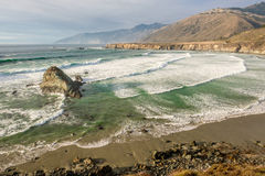 USA Pacific coast, Sand Dollar Beach, Big Sur, California Royalty Free Stock Image