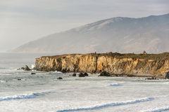 USA Pacific coast, Sand Dollar Beach, Big Sur, California. USA Pacific coast landscape, Sand Dollar Beach, Big Sur, California Stock Photography