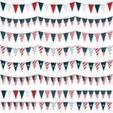 USA-Partyflagge Lizenzfreie Stockfotografie