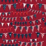 USA-Partyflagge Stockfotografie