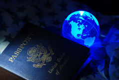 Usa passport Stock Images
