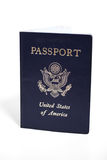 USA Passport. United States Passport Isolated on white Royalty Free Stock Photo