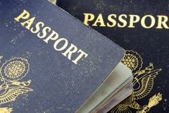 USA Passport Royalty Free Stock Photography