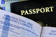USA Passport Royalty Free Stock Photos