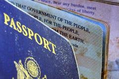 USA Passport Royalty Free Stock Photography