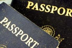 USA Passport Stock Photos