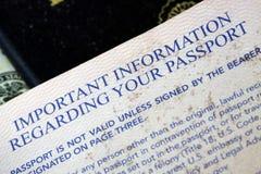 USA Passport Royalty Free Stock Images