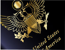 USA paszporta zbliżenie Fotografia Royalty Free