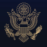 USA paszportowa foka Zdjęcia Stock