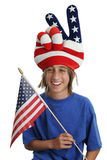 USA Patriot Boy Stock Photos